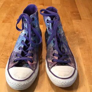 CONVERSE ALL STAR Galaxy high tops Size 6 Womens